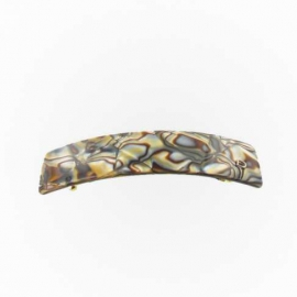 Barrette large onyx