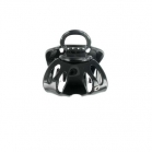 Medium size black octopus clip