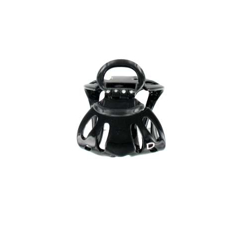 Small size black octopus clip