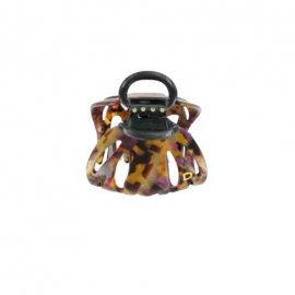 Medium size pourpre octopus clip