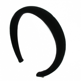 Large black head band