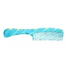 Turquoise comb lady