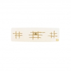 Barrette esquisse cream