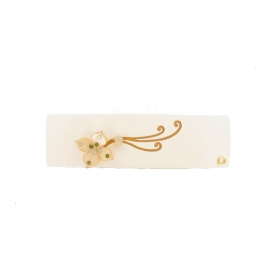 Barrette lys cream-orange