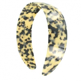 Wide size white tokyo head band