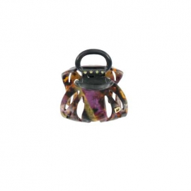 Small size pourpre octopus clip